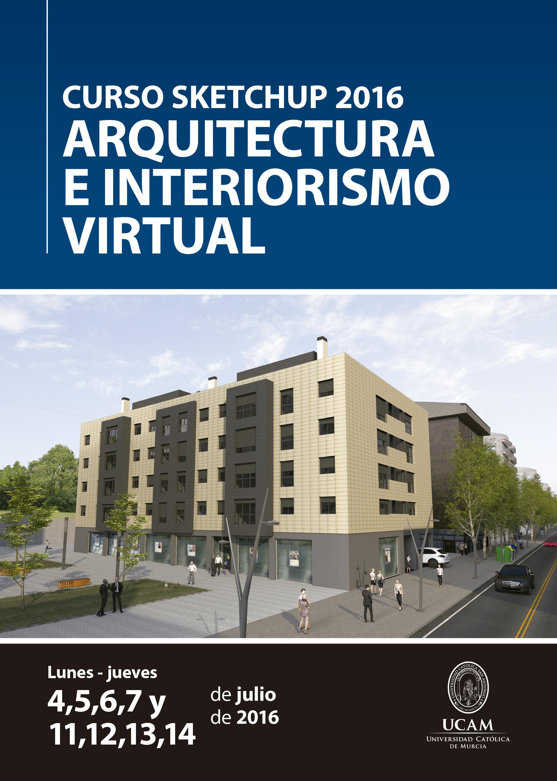 Curso Sketchup 2016 39 Arquitectura E Interiorismo Virtual